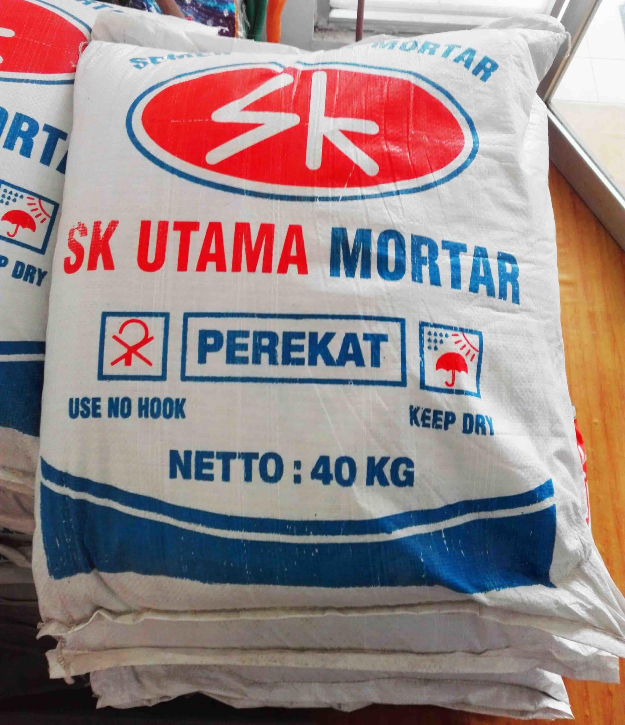 Jual Semen Mortar SK Utama